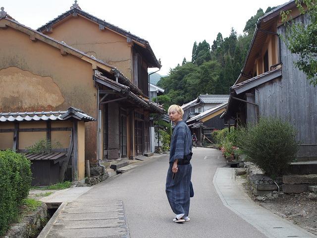 大人も楽しい!世界遺産の町を着物でぶらり【石見銀山の宿ゆずりは】_b0141240_23262832.jpg