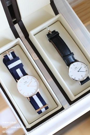 ダニエル・ウェリントンの腕時計の収納_e0214646_1333650.jpg