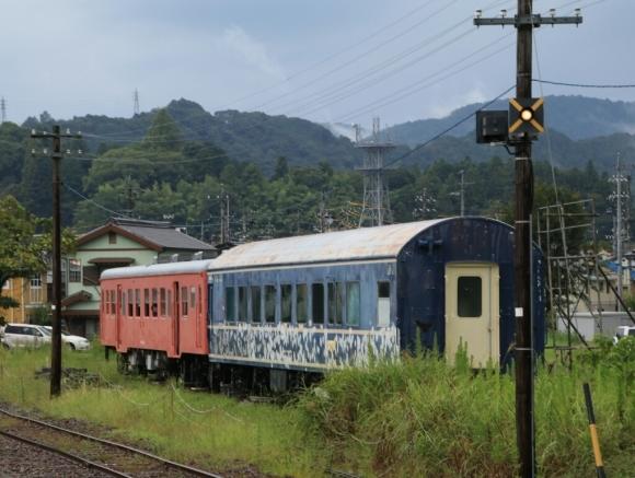 天竜二俣駅   20系客車  _d0202264_14435894.jpg
