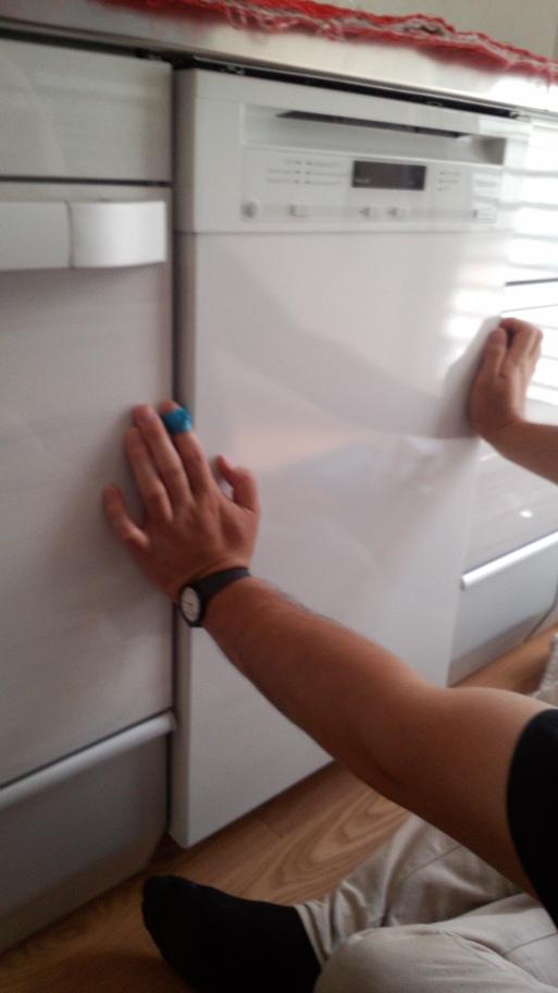 ミーレ食器洗い機45cm設置してきました (クリナップキッチン編)_a0155290_14362373.jpg