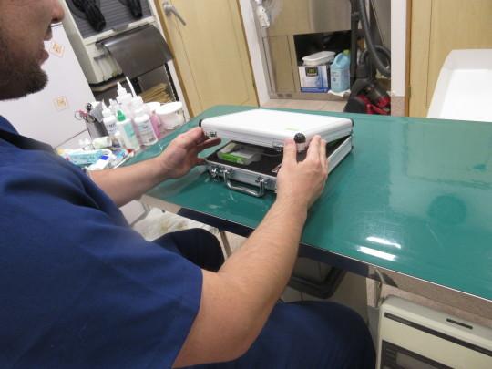 新しい医療機器が導入されました。_e0339146_20163944.jpg