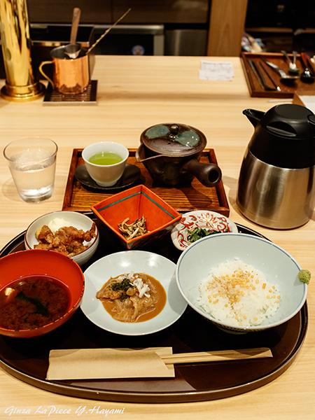 銀座グルメ 茶カフェ 竹若 鯛煎茶漬け_b0133053_00154301.jpg