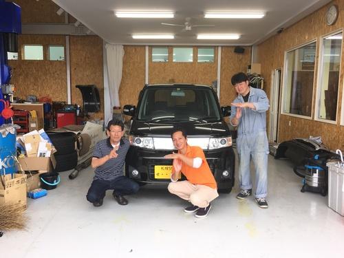 マサブロヽ(^o^)丿本日納車2台!ランクル、ハマー、アルファード_b0127002_1947658.jpg
