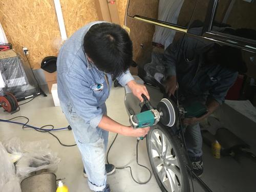 マサブロヽ(^o^)丿本日納車2台!ランクル、ハマー、アルファード_b0127002_20124037.jpg