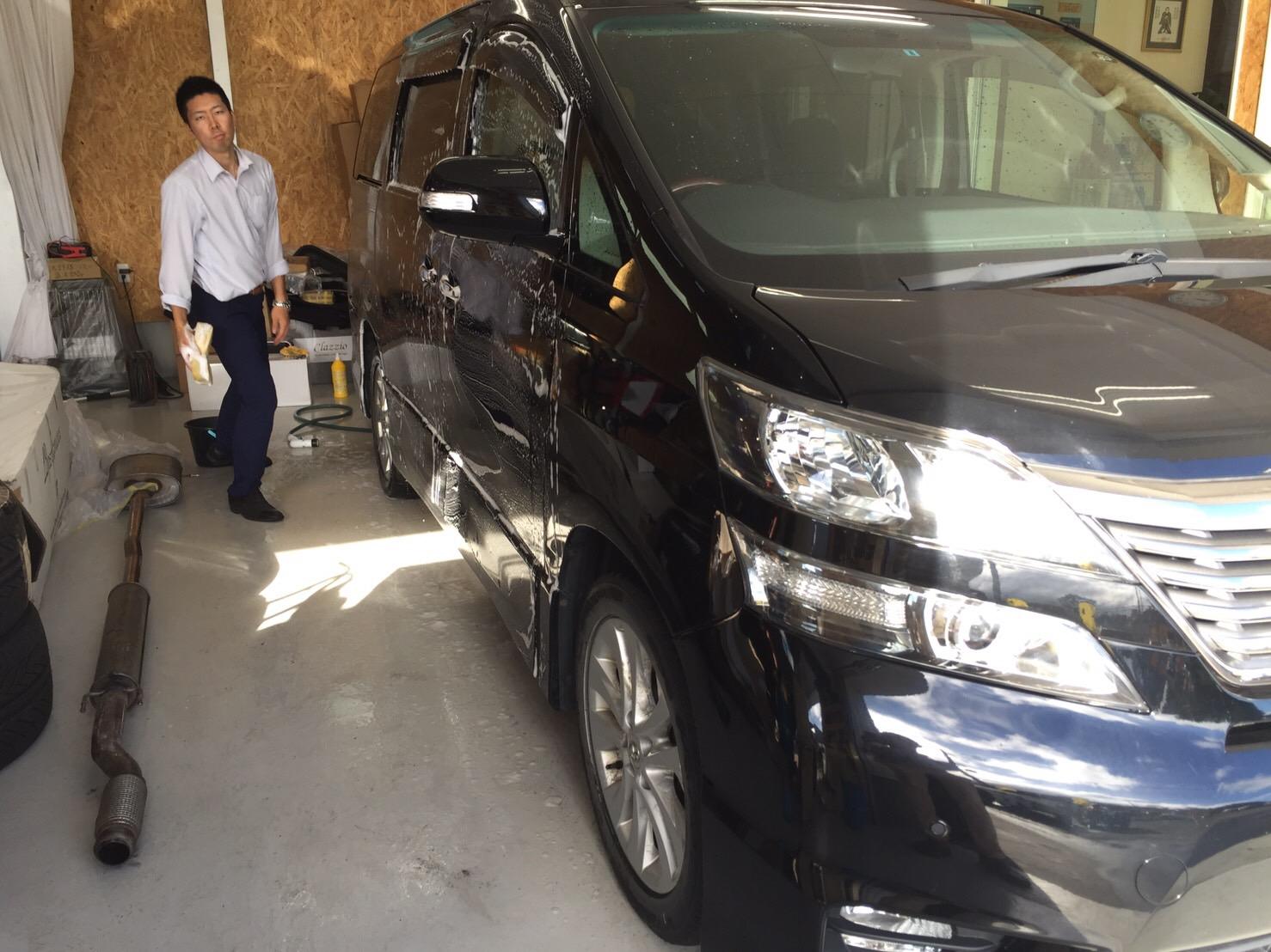 マサブロヽ(^o^)丿本日納車2台!ランクル、ハマー、アルファード_b0127002_20183221.jpg