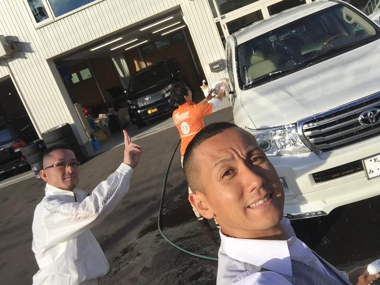マサブロヽ(^o^)丿本日納車2台!ランクル、ハマー、アルファード_b0127002_2024862.jpg