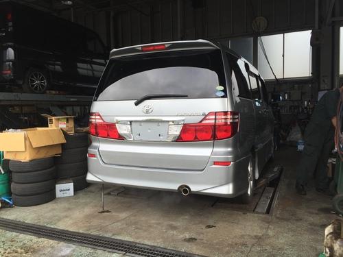 マサブロヽ(^o^)丿本日納車2台!ランクル、ハマー、アルファード_b0127002_2028510.jpg