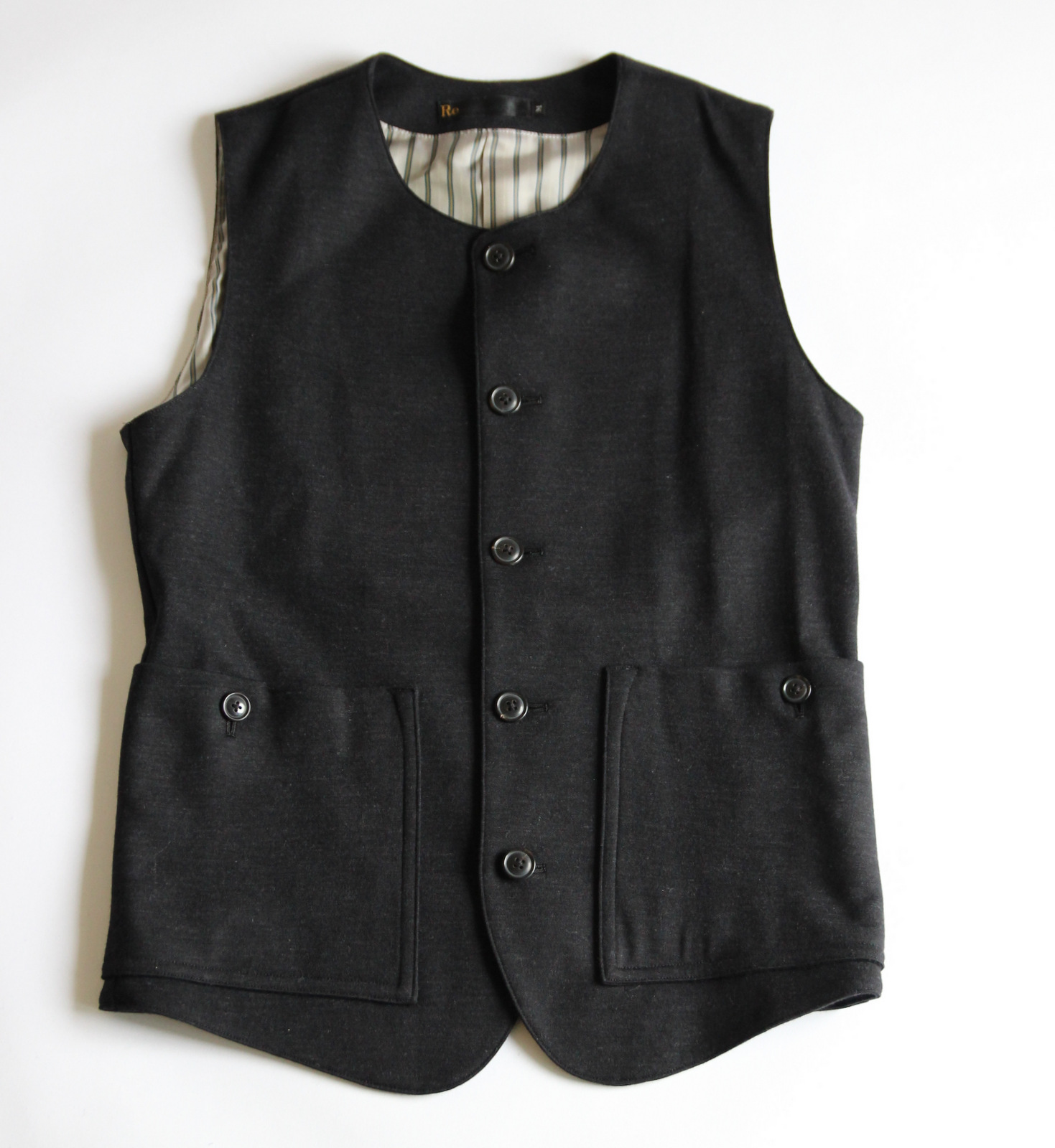 Dress Wool Knit Tailor Vest (3piece)_e0142928_18162765.jpg