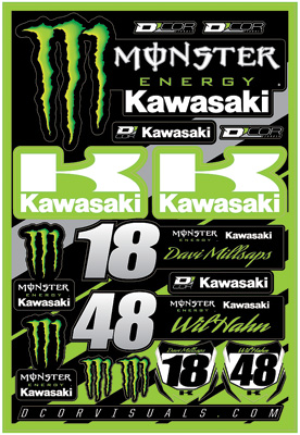 D\'COR ステッカーキット MONSTER KAWASAKI_f0062361_17295880.jpg