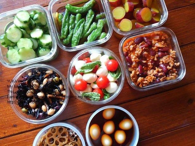 9.10 作りおきと干し野菜。あれも買いましたw_e0274872_14110141.jpg
