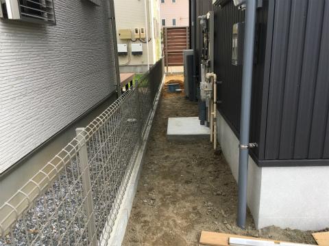 大島 Oさんの家 ★外構工事_d0205883_16365562.jpg