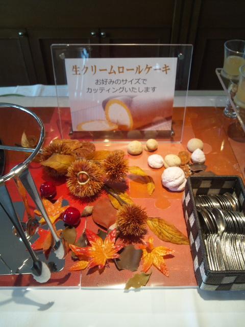 川﨑日航ホテル 夜間飛行 秋の収穫スイーツブッフェ_f0076001_23363964.jpg