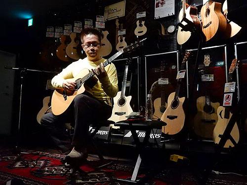 良かったです!「Morris Presents 南澤 大介 In Store Special Live」_c0137404_7341120.jpg