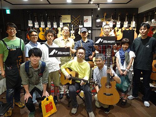 良かったです!「Morris Presents 南澤 大介 In Store Special Live」_c0137404_8412188.jpg