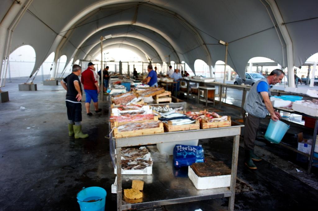 シチリア日記 Trapaniの魚市場_c0180686_16581593.jpg
