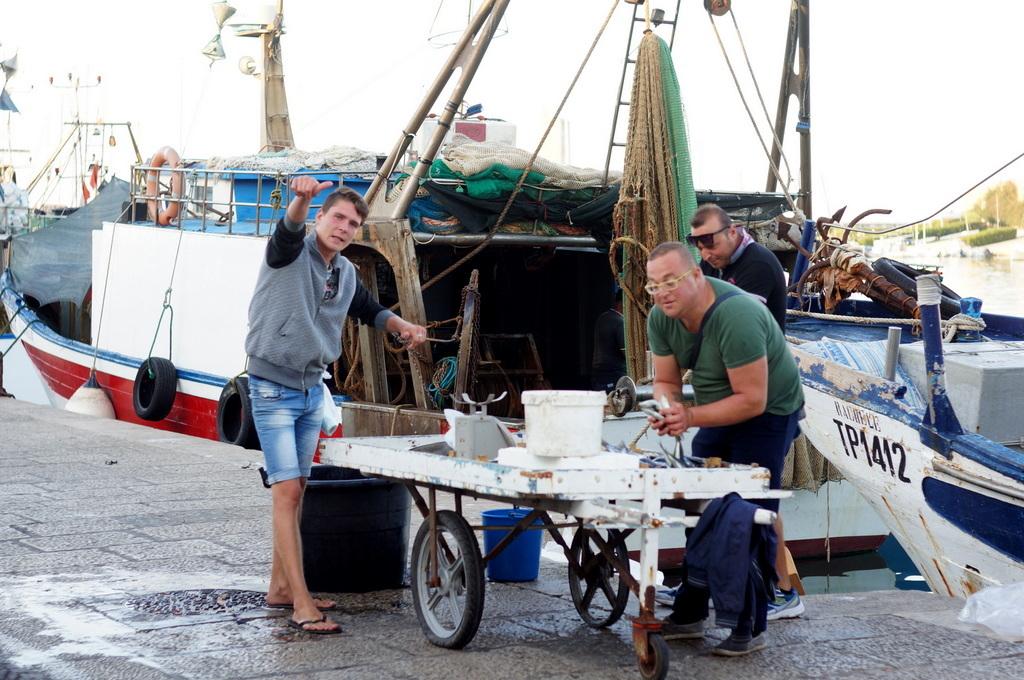 シチリア日記 Trapaniの魚市場_c0180686_17025279.jpg