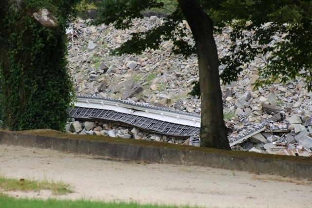 熊本大震災からの復興@崩壊した熊本城と加藤清正公の涙そして若者達への希望と勇気_d0181492_10533583.jpg