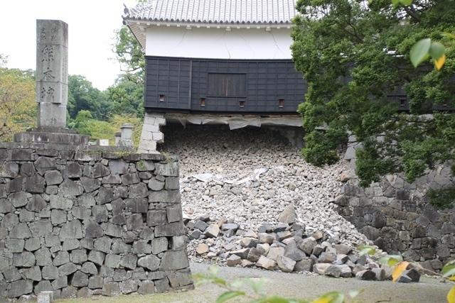 熊本大震災からの復興@崩壊した熊本城と加藤清正公の涙そして若者達への希望と勇気_d0181492_10553842.jpg