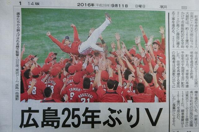 広島カープリーグ優勝おめでとう!!歓喜にわく広島の街・・・・阪神タイガースも来年こそ悲願の優勝を_d0181492_19593271.jpg