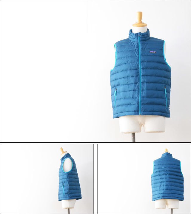 【再入荷】patagonia [パタゴニア正規代理店] BOY\'S DOWN SWEATER VEST [68221] MEN\'S_f0051306_16502004.jpg