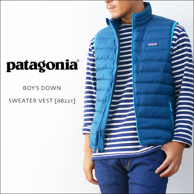 【再入荷】patagonia [パタゴニア正規代理店] BOY\'S DOWN SWEATER VEST [68221] MEN\'S_f0051306_16502069.jpg