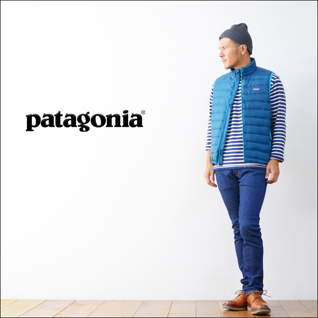 【再入荷】patagonia [パタゴニア正規代理店] BOY\'S DOWN SWEATER VEST [68221] MEN\'S_f0051306_16502090.jpg