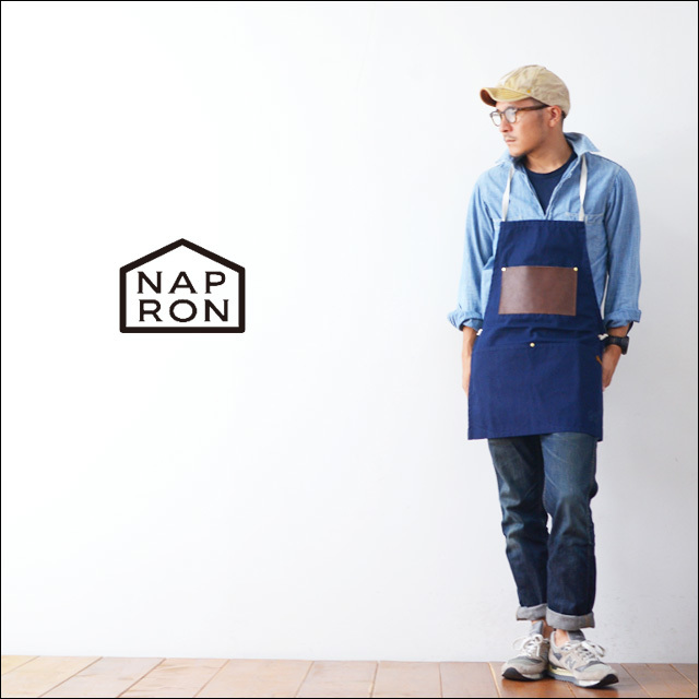 NAPRON [ナプロン] LEATHER POCKET APRON [NP-AP06] MENS\'/LADY\'S_f0051306_18313992.jpg