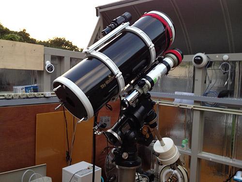 望遠鏡設置完了!!本格始動じゃ_c0061727_928261.jpg