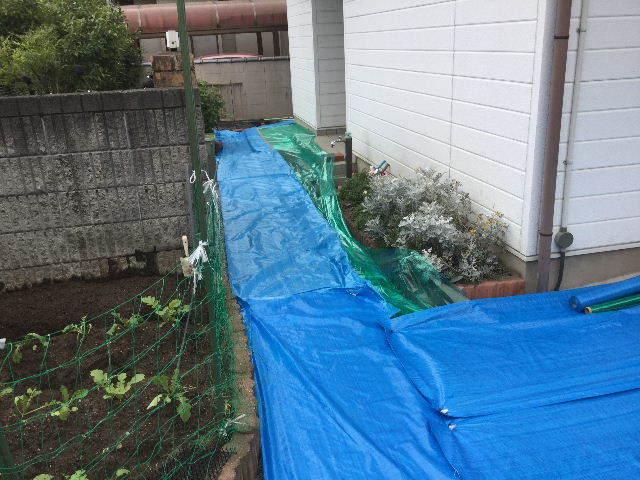 戸建て塗装・・始動_f0031037_17214134.jpg