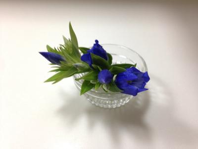 ブルーな空と花とギフト***_e0290872_18395686.jpg