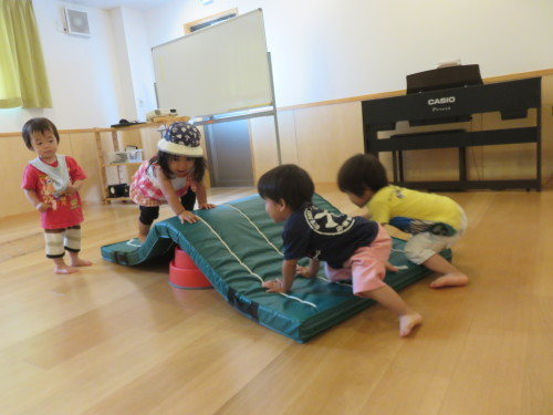 もりんぴっく遊び(乳児)_f0327175_13014578.jpg