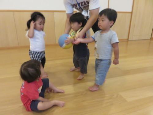もりんぴっく遊び(乳児)_f0327175_13045882.jpg