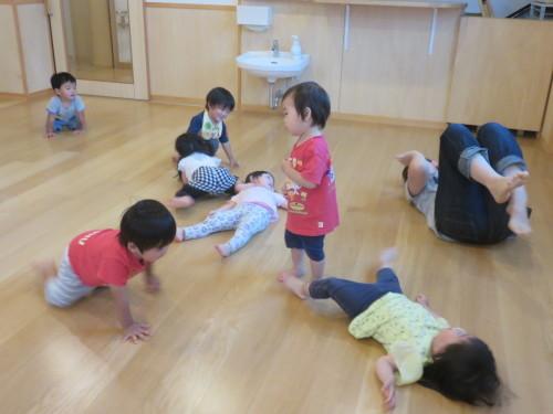 もりんぴっく遊び(乳児)_f0327175_13055522.jpg