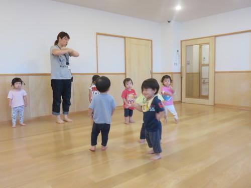 もりんぴっく遊び(乳児)_f0327175_13063511.jpg