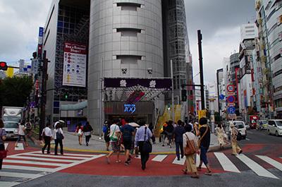 9月12日(月)今日の渋谷109前交差点_b0056983_11435202.jpg