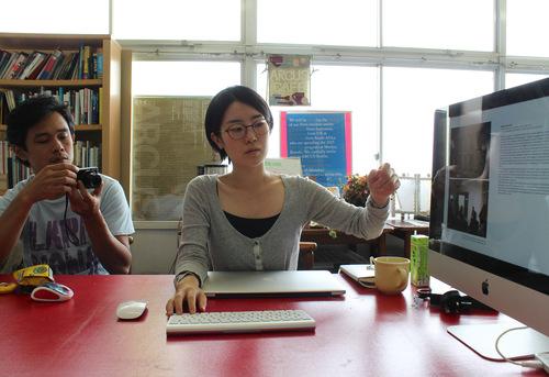 9/6 プレゼンテーション / First Presentation_a0216706_1816331.jpg