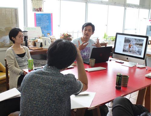 9/6 プレゼンテーション / First Presentation_a0216706_189018.jpg