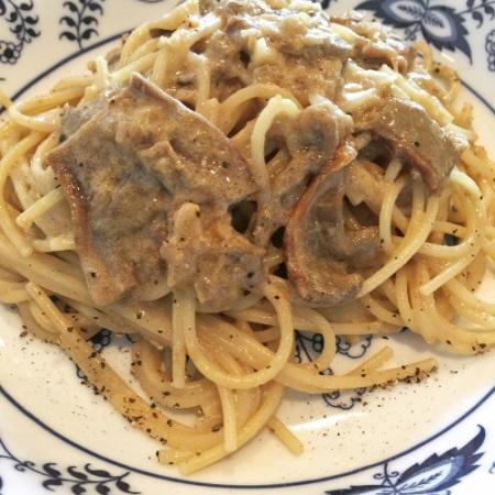 ポルチーニ茸のクリームソース スパゲッティー二 / Spaghettini with Porcini Cream Sauce_b0158813_1961250.jpg
