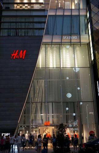 H&Mの洒落たハーフライン_f0055131_9373349.jpg