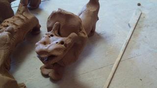 昨日の陶芸は~♪_f0374160_17232402.jpg