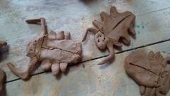息子の陶芸教室♪_f0374160_17233105.jpg