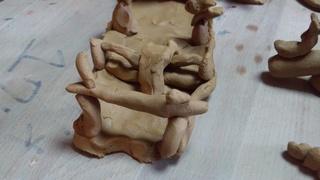 息子の陶芸で初詣(^人^)♪_f0374160_17250109.jpg