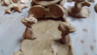 息子の陶芸で初詣(^人^)♪_f0374160_17250159.jpg
