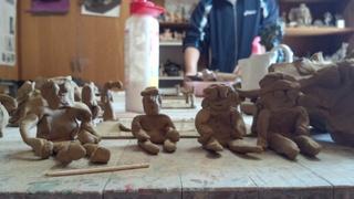 陶芸教室と初ベランダ3ショット♪_f0374160_17255677.jpg