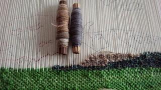 織り教室*山肌は難しい~_f0374160_17295011.jpg