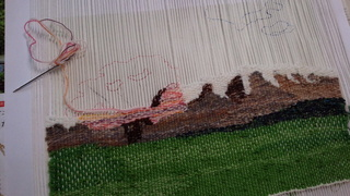 今日は絵織り教室でした~♪_f0374160_17305738.jpg