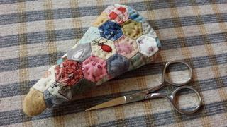 糸切りハサミのケース完成♪_f0374160_17312545.jpg