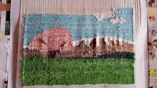 織り教室とお気に入りのドレッシング♪_f0374160_17321885.jpg