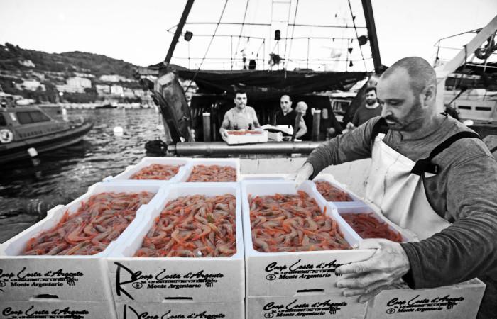 フィレンツェにまたまたお魚の美味しいお店登場!!!ーー漁師さんから直接届くから美味しい&安い!!_c0179785_1315021.jpg
