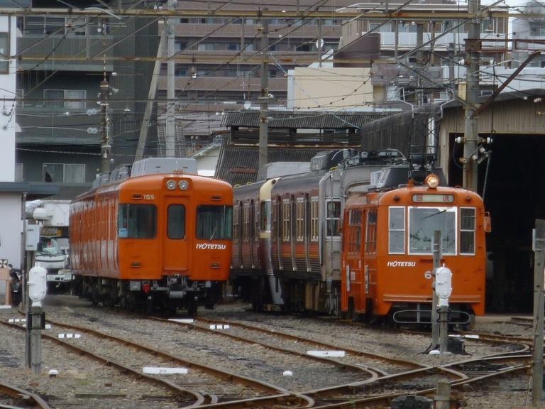 ○鉄道と軌道が交差する「伊予鉄道」_f0111289_10184323.jpg